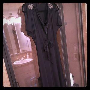 Long Black BCBG Dress